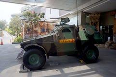 Militär utrustning Arkivfoto