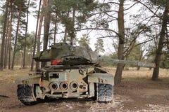 Militär utrustning för tappning - behållare Royaltyfri Foto