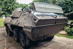 Militär utställning i Warszawa Royaltyfria Foton