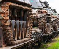 Militära behållare. Royaltyfri Foto