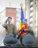 12/01/2018 - Military formations celebrating the Romanian National Day in Timisoara, Romania