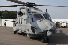 Militära helikopterNH-industrier NH90 NFH Arkivbild