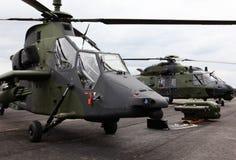 militära helikoptrar Royaltyfri Bild