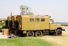 militära lastbilar Royaltyfri Foto