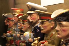 Militära ledare Arkivfoton