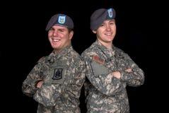 militära män Royaltyfria Bilder
