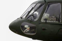 1 militära ockupationräddningsaktion för helikopter Royaltyfria Bilder
