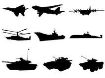 militära tekniker Arkivbilder