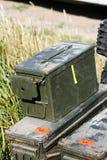 Militärausrüstung Stockfotos