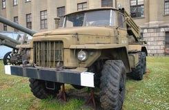 Militärausstellung in Warschau Lizenzfreies Stockbild