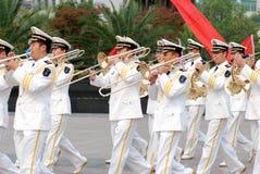 Militärband Stockfotografie