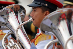 Militärband Stockfotos