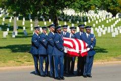 Militärbegräbnis Stockfotos