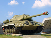 Militärbehälter IS-3 (Iosif Stalin) Lizenzfreie Stockfotografie