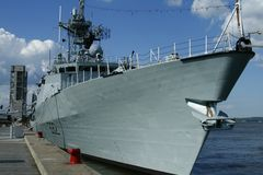 Militärboot Lizenzfreie Stockfotografie