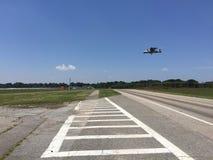 Militären hyvlar landning Arkivfoton