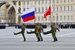militären ståtar Royaltyfri Foto