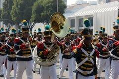 Militären ståtar av självständighetsdagen i Rio de Janeiro, Brasilien Royaltyfria Bilder