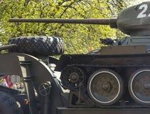 Militären ståtar för den 70th årsdagen av segern över fas Royaltyfria Bilder