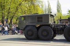 Militären ståtar för den 70th årsdagen av segern över fas Arkivbilder