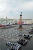 militären ståtar seger Fotografering för Bildbyråer