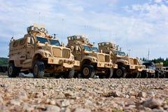 Militärfahrzeug lizenzfreies stockfoto
