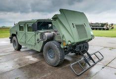 Militärfahrzeug Stockbild