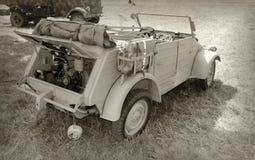Militärfahrzeug des Zweiten Weltkrieges Lizenzfreies Stockbild