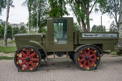 Militärfahrzeuge des zweiten Weltkriegs Lizenzfreie Stockfotos