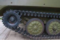 Militärfahrzeuge des zweiten Weltkriegs, Behälterübertragungseinrichtung Lizenzfreies Stockbild