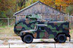 Militärfahrzeuge Lizenzfreies Stockfoto