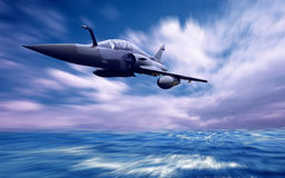 Militärflugzeug Lizenzfreie Stockfotografie