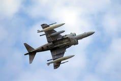 Militärflugzeug stockfoto