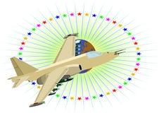 Militärflugzeuge Lizenzfreies Stockfoto