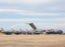 Militärflugzeuge Stockfotos