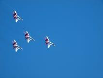 Militärflugzeuge SU 27 Lizenzfreie Stockfotos