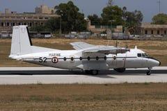 Militärflugzeuge turboprop-Triebwerk der französischen Fracht Stockfotografie