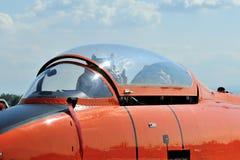 Militärflugzeugstrahl aermacchi MB326 Rumpf und Lizenzfreie Stockbilder