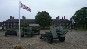 Militärfordon Royaltyfri Bild