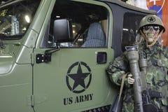 Militärfordon Royaltyfria Foton
