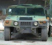 Militärfordon Hummer Royaltyfri Bild