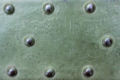 Militärischer metallischer Oberflächenhintergrund lizenzfreies stockbild