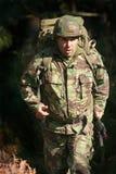 Militärisches körperliches Training Stockbild