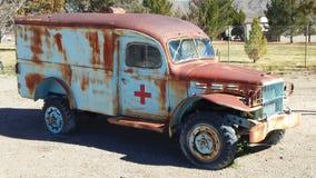 Militärisches medizinisches Fahrzeug Lizenzfreie Stockfotos
