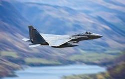 Militärkampfflugzeug Stockbild