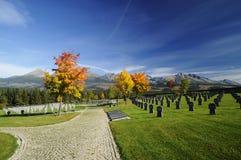 Militärkirchhof Lizenzfreie Stockbilder