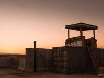 Militärlager irgendwo in der Welt IV Lizenzfreies Stockfoto