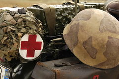 Militärlebensdauer Stockbild