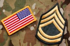Militärmaterial Stockfotos