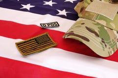 Militärmaterial 19 Stockfoto